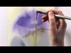 watercolour flower +++