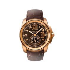 9e6eb448f7c Cartier. Always classic. Calibre de Cartier watch pink gold Cartier Calibre