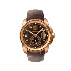 Cartier. Always classic. Calibre de Cartier watch pink gold