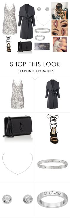 """""""Untitled #539"""" by drika-rickwardt ❤ liked on Polyvore featuring Motel, Yves Saint Laurent, Steve Madden, Cartier and Skinnydip"""