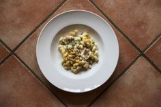 Swiss Mac and Cheese With Ham and Peas