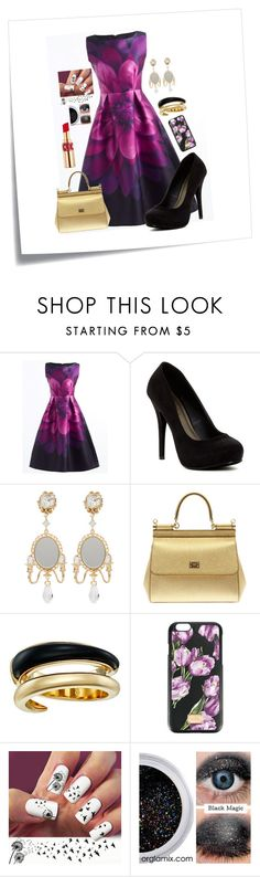 """Special dinner  ♥ ♥ ♥"" by yeiscar ❤ liked on Polyvore featuring Post-It, Michael Antonio, Dolce&Gabbana, Michael Kors and Yves Saint Laurent"