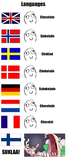 that's the way we like it.. Funny Cute, Hilarious, Finnish Language, Haha, Speaking In Tongues, Chuck Norris, Funny Facts, Just For Laughs, Funny Comics