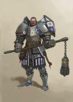 fantasy male knights heavy armor man warrior