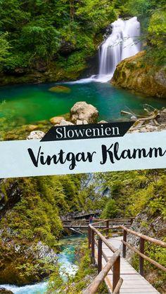 Die Vintgar-Klamm in Slowenien liegt im Triglav Nationalpark und ist eine der berühmtesten und schönsten Natur Sehenswürdigkeiten des Landes!