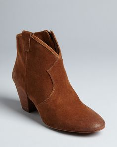 Ash Booties - Spiral Mid Heel - Boots - Shoes - Shoes - Bloomingdale's