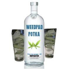 How to make marijuana vodka recipe, some stoners call it Potka. An easy marijuana recipe, you add weed to vodka. WeedPad has a better Potka weed recipe Weed Recipes, Marijuana Recipes, Vodka Recipes, Cannabis Edibles, Candy Recipes, Pickle Vodka, Infused Vodka, Vodka Bottle, Liquor