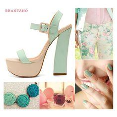 #PV2013 Inspírate con nuestros Ankle Strap Menta #Charol para un #look dulce y #primaveral: http://www.brantano.com.mx/producto/856-ankle-strap-menta1-charol.aspx.  #menta #nude #fresco #look #PaletaDeColor #zapatos #sandalias #Brantano #shoes #tiendaonline #elementos