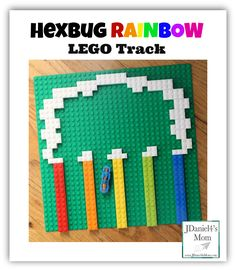 Hexbug Rainbow LEGO Track