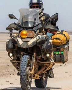 THE king of adventure touring. BMW R-1200 GS