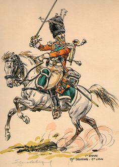 Compagnie d'élite du 27e régiment de dragons.