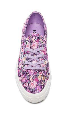 Superga Sneakers in Flower