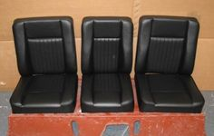 Seat Set - Deluxe , Series 2 & 3 | Classic 4x4 Parts