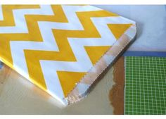 My new fave party supply store, favor bags, coasters, striped straws... they've got it all.  - CuteTape.com Medium YELLOW Chevron Favor Bags 5x7 Pack of 24