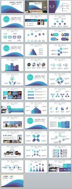 Business infographic : Business infographic : 37-annual-premium-presentation-powerpoint-template #power