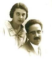 Galería de fotos. María y Fernando, foto de época. #MariaMoliner
