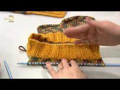 Derya Baykal'la Gülümse: Yelek Yapımı - YouTube Hairstyle Trends, Fingerless Gloves, Arm Warmers, Collars, Knit Crochet, Embroidery, Knitting, Model, Pattern