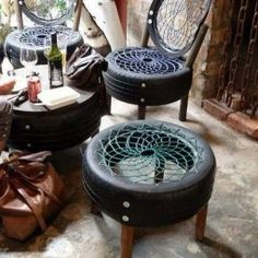 Smart ways to use old tires 41.jpg