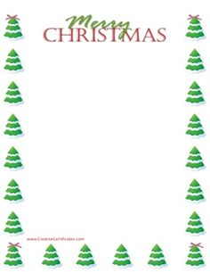 Free Christmas borders. Instant download. Many designs available. Christmas List Template, Free Christmas Printables, Free Printables, Christmas Books, Christmas Ideas, Xmas, Christmas Tree, Free Christmas Borders, Tree Borders