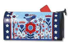 Magnet Works Mailwraps Mailbox Cover - Freedom Fence Design Magnetic Mail at GardenHouseFlags