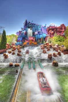 Dudley Do-Right's Ripsaw Falls.
