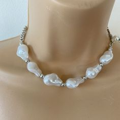 Badass Style, Etsy Jewelry, Jewellery, Handmade Products, Handmade Items, Gifts For Him, Silver Jewelry, Pearl Necklace, Pendants