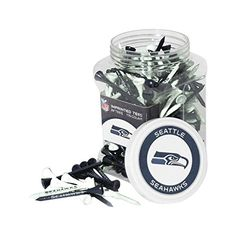 NFL Seattle Seahawks Jar of 175 Tees -- Click image to review more details.