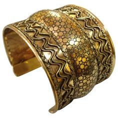 Brass Tri Tier Handmade Cuff Bracelet https://sitaracollections.com/collections/bracelets-cuffs-and-bangles/products/brass-tri-tier-cuff