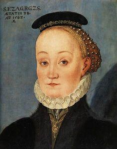 1562 Lucas Cranach the Younger, Lucretia Frei frau von Berlepsch