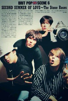 The Stone Roses Brit Pop when music was great in the The Stone Roses Album, Baby Driver, Britpop, Music Albums, Rock Bands, The Beatles, Rock N Roll, Night Life, Manchester