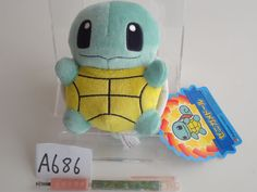 Pokemon Center Plush Doll Squirtle Schiggy Carapuce.with the bonus item From jpn #PokemonCenter