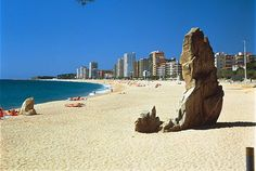 Platja d'Aro Beach 2 min walking from Hotel La Terrassa Playa de Aro  COSTA BRAVA SPAIN