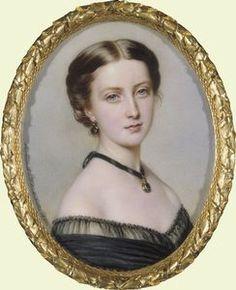 Princess Helena, Anton Hähnisch, 1861.