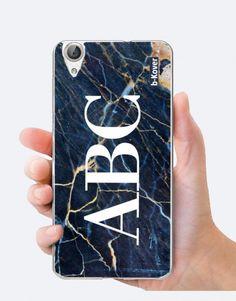 funda-mármol-azul-noche-personalizada Custom Cases, Phone Cases, See Through, Mobile Cases, Night, Blue Nails, Phone Case