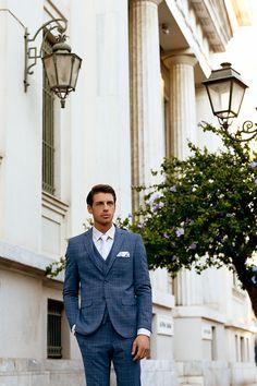Κοστούμι μπλε καρό κωδ:1440 - Γαμπριάτικα κοστούμια ΘεσσαλονίκηΓαμπριάτικα κοστούμια Θεσσαλονίκη Wedding Reception, Style, Fashion, Marriage Reception, Swag, Moda, Fashion Styles, Wedding Reception Ideas, Fasion