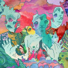 The Satanic Satanist – Portugal. The Man A lot of colors here set together in a funky mix that ends up coming together pretty well