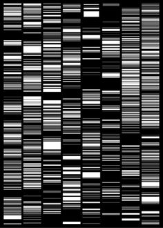 Japanese artist Ryoji Ikeda's film test pattern will be reimagined for the Times Square billboards this October. From 11:57pm to midnight each night, digital screens will be taken over by tightly synchronized, flickering black-and-white imagery mining data for mathematical beauty as part of Midnight Moment. A special event on October 16 will be the first time sound is incorporated into the Midnight Moment.
