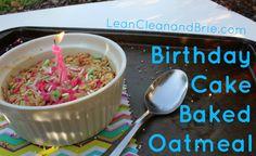 Birthday Cake Baked
