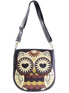 Such a Hoot Owl Crossbody Bag at PLASTICLAND
