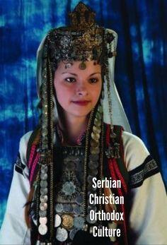 Beautiful Serbian Christian Orthodox ethnic clothes