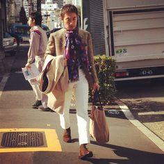 #preppymens #trendspotted in #aoyamafashiondistrict #winter2013 By www.fashioninjapan.com