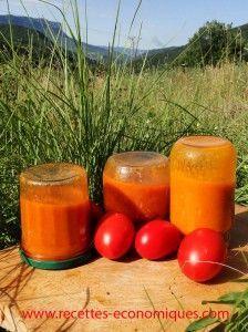 recette de coulis de tomates au thermomix Plus