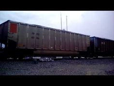 BNSF is carrying a loaded coal train