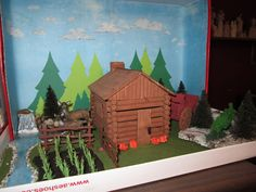 sign of the beaver science | My life as a help meet & homeschooling mom of many: Diorama Progress