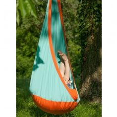 Hanging Crow's Nest - Kid's Outdoor Hammock Swing. $119.95
