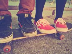 Skateboard – teenagers fashion. Young style.