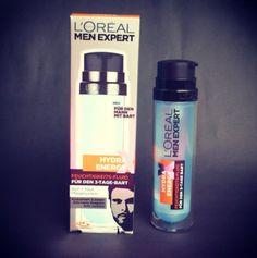 Das neue L'Oréal Men Expert Hydra-Energy X. Es handelt sich dabei um ein Bart und Haut Pflegesystem, welches den Bart weicher und geschmeidiger macht. Ausserdem spendet das Hydra-Energy X 24h Feuchtigkeit und sorgt damit für ein angenehmes Hautgefühl. Das Produkt ist transparent/farblos und hinterlässt somit keine Rückstände oder färbt ab. Ab Mitte April bei uns erhältlich :-)