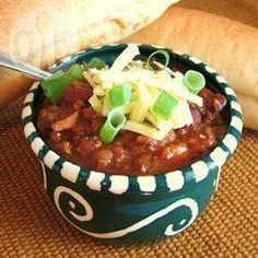 Slow cooker chilli con carne @ allrecipes.co.uk