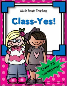 FREE Whole Brain Teaching: Class-Yes! from The Reflective Educator on… Teaching Class, Teaching Posters, Whole Brain Teaching, Teaching Tools, Teaching Resources, Teaching Ideas, Kindergarten Classroom Management, Teaching Kindergarten, Classroom Ideas