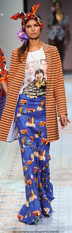 Milan - Stella Jean ~African Prints, African women dresses, African fashion styles, African clothing, Nigerian style, Ghanaian fashion ~DKK